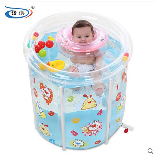 Size:73*75cm,Water Thickening Folding Tub,Adult Inflatable Bathtub ...