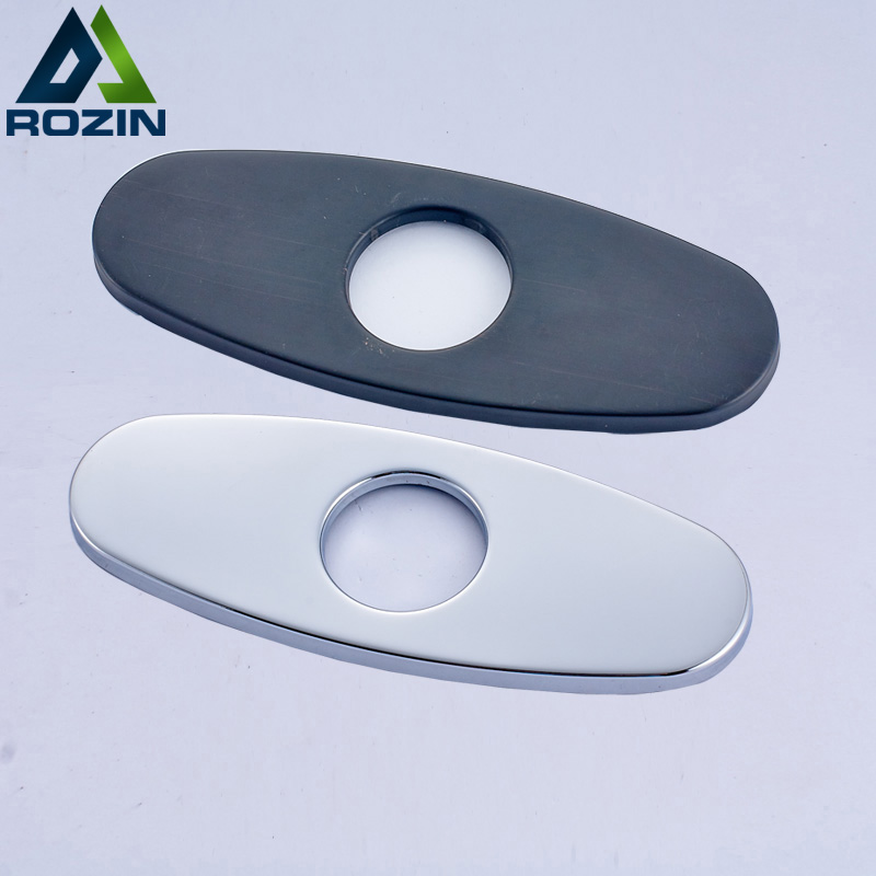 Bathroom Kitchen Faucet Hole Cover Deck Plate Escutcheon Vessel Vanity Sink