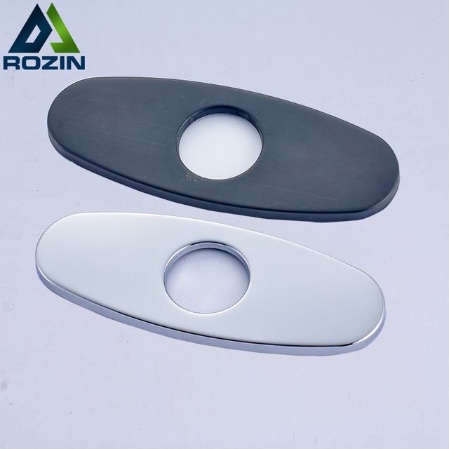 Rozin Free Shipping 6 Inch Sink Faucet Hole Cover Deck Plate Escutcheon For  Bathroom Or Kitchen