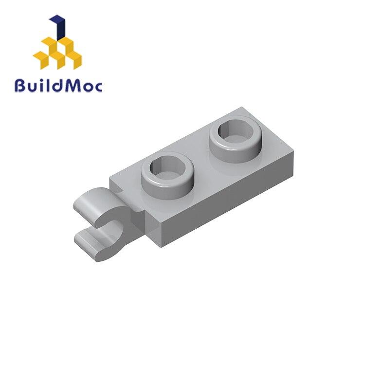 Buildmoc compatível monta partículas 63868 1x2 para blocos de construção peças diy logotipo educacional criativo presente brinquedos