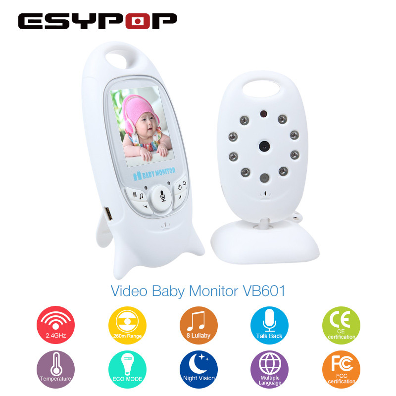 VB601 Baby Monitor Home font b Camera b font Night Vision HD Mini IP font b