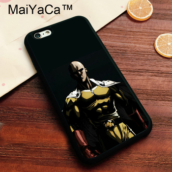 MaiYaCa One punch man Anime Print Protective Shell Case for iPhone 7 Phone Case Capa Soft TPU Cover Fundas For iphone 7