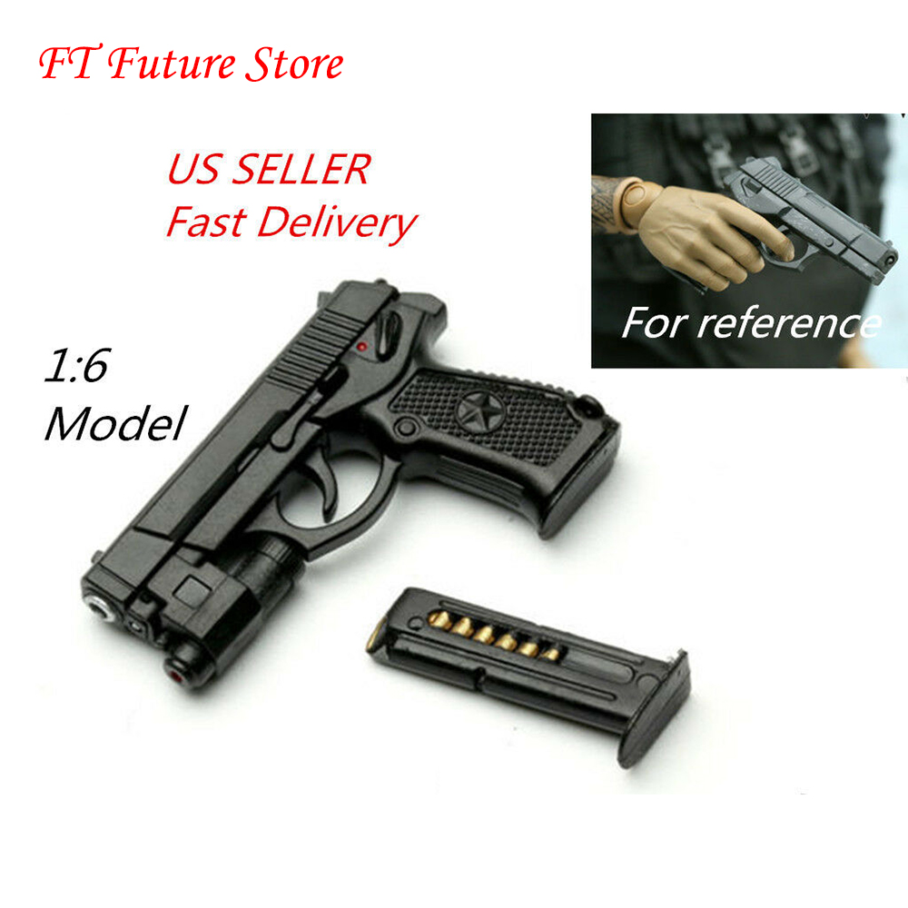 US 1/6 Scale Solider Weapon QSZ92 Semi-automatic Pistol Rifle Gun Guns Weapon Model For 12'' Action Figure Toy