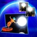 Настольная лампа  светодиодная  с усилением в виде драконьего шара  Son Goku  с вилкой Стандарта ЕС и США