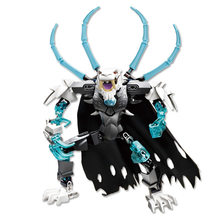 New 816-2 Bionicle Robot DIY kids boys Building Block Toys gifts Action Figure Compatible With Leogings Chimo Sir Fangar(China)