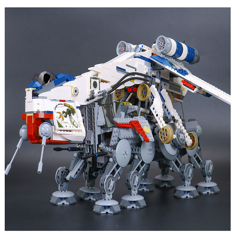 New Lepin 05053 Genuine Star Series War The Republic Dropship Set Building Blocks Bricks Children Toys 10195 Educational Gifts new lp2k series contactor lp2k06015 lp2k06015md lp2 k06015md 220v dc