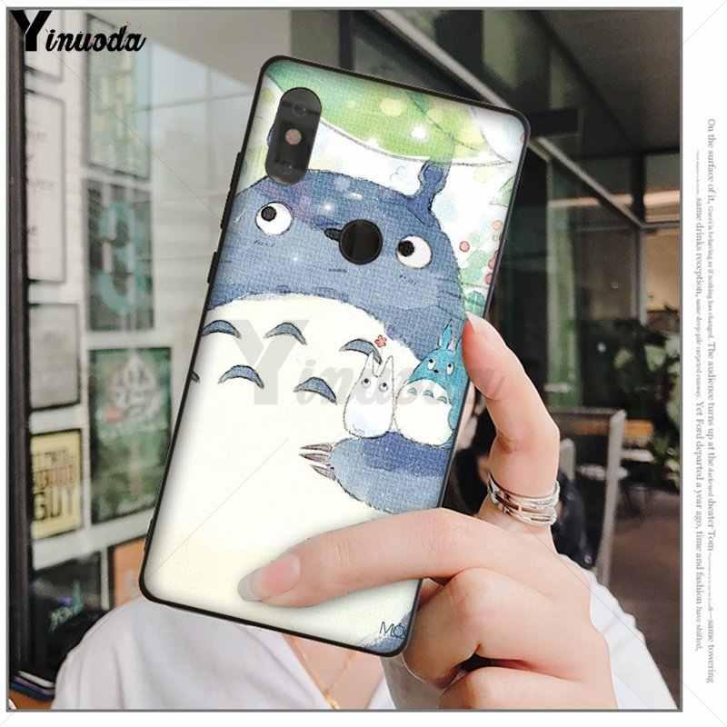 MaiYaCa กล่องสตูดิโอ Ghibli Spirited Away Totoro ลูกค้าโทรศัพท์กรณีสำหรับ xiaomi mi 6 8 se note2 3 mi x2 redmi 5 5 plus หมายเหตุ 4 5