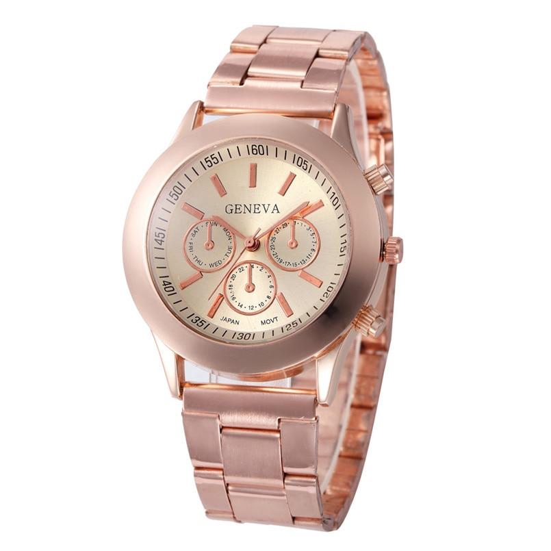 Splendid Luxury Women Watches Stainless Steel Sport Quartz Hour Wrist Analog Watch Female Quartz Wristwatches Lady Dress Watch