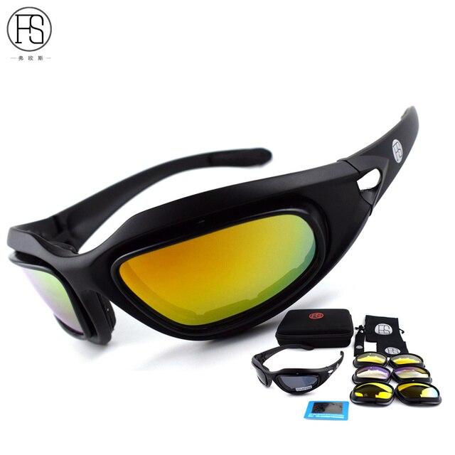 829b326e60d0f Óculos De Sol Para Homens polarizada Óculos Óculos De Sol Dos Homens Do Exército  Militar do