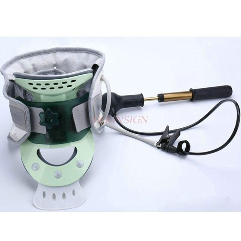 Tracteur de vertèbre cervicale gonflable outil médical de soins du cou à domicile col de fixateur respirant force équipement extensible bureau