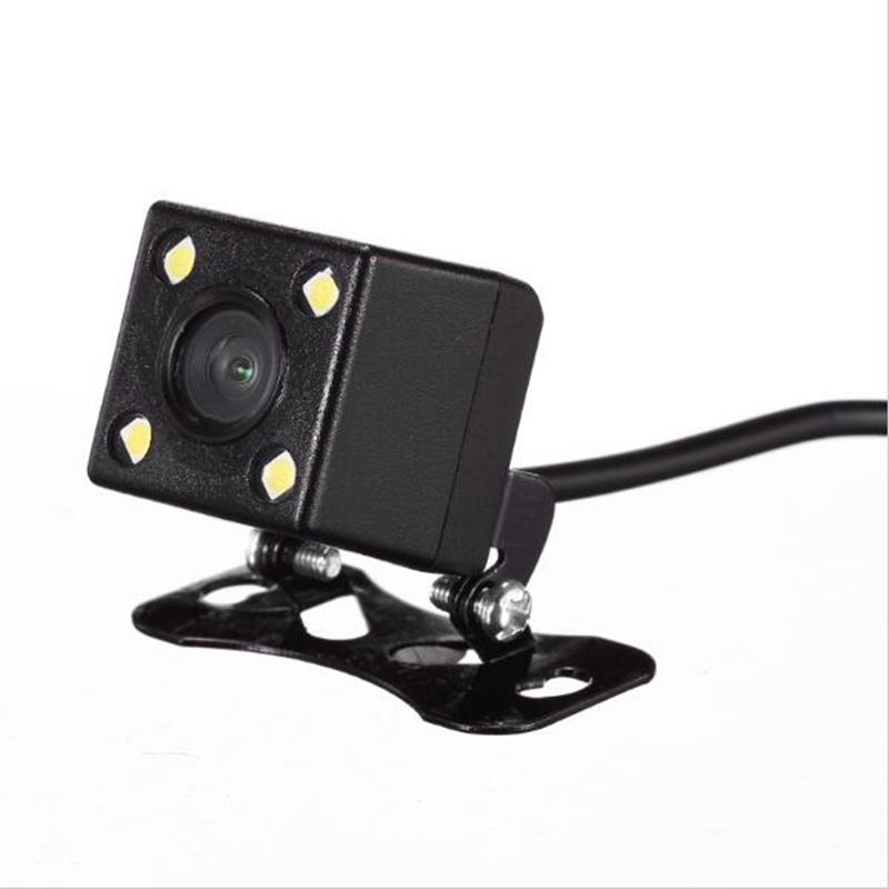 4 Led Lamps Reverse Camera Night Vision HD CDD Rear View Camara Lens 2 5mm Jack