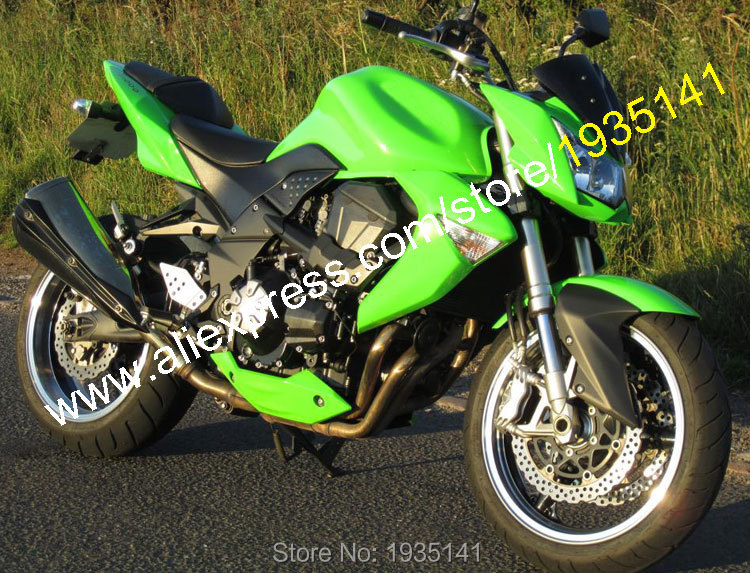 Hot Sales,Motorcycle Fairing Kit For Kawasaki Z1000 2007 2008 2009 Z 1000 07 08 09 Full Green Aftermarket ABS Fairing Body Kit