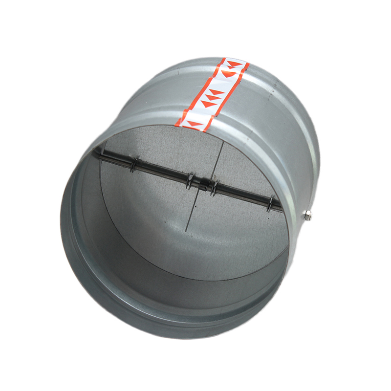 Check Valve Galvanized Kitchen Public Flue Range Hood Check Valve 100mm 125mm 150mm 200 250mm
