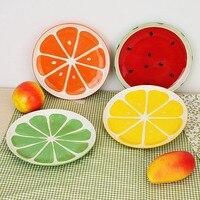 Śliczne Płyta Piękne Ręcznie Malowane Owoce Arbuz Naczynia Ceramiczne Miski Dla Dzieci Cartoon Stołowe Sztućce 4 Stylów Opcja