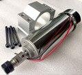 BEST! 500W DC spindle motor + BRACKET ER11 collet 52mm diameter 12-48V CNC Carving Milling Air cold Spindle Motor For Engraving