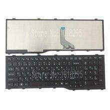 Nowy dla obsługi Fujitsu Lifebook AH532 A532 N532 NH532 MP 11L63SU D85 CP569151 01 rosyjski RU klawiaturze laptopa Teclado czerni