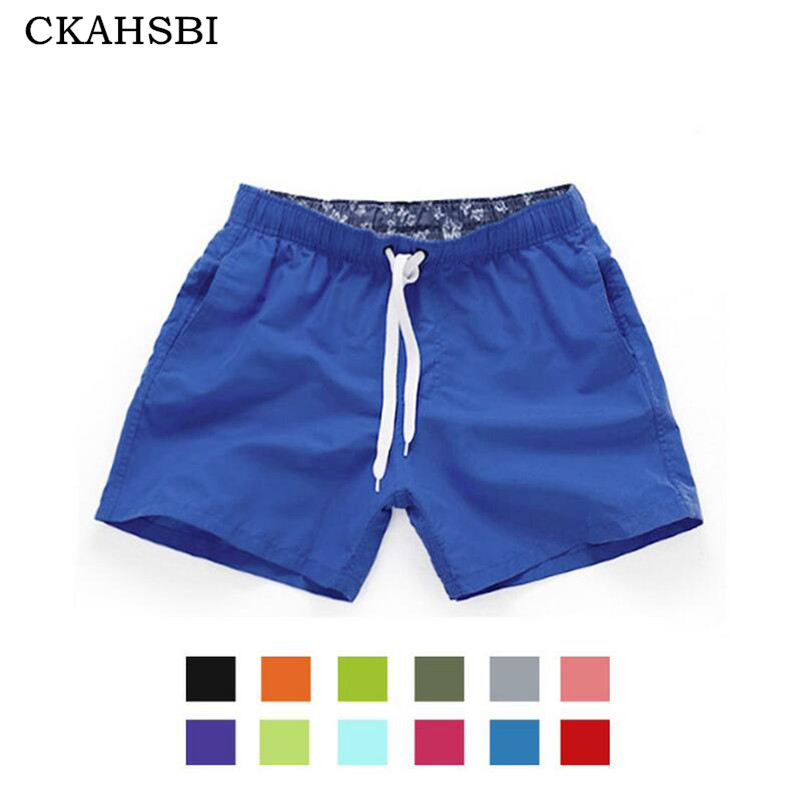 цена CKAHSBI Pocket Quick Dry Swimming Shorts For Men Swimwear Man Swimsuit Swim Trunks Summer Bathing Beach Wear Surf Boxer Briefs