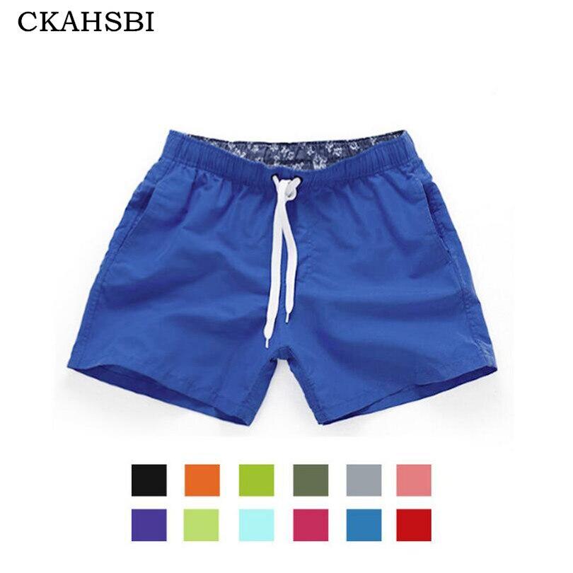 CKAHSBI bolsillo de secado rápido natación para los hombres traje de baño hombre traje de baño Baño de verano Beach Wear Surf Boxer Briefs