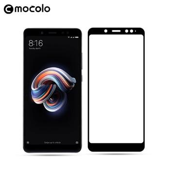 Película de vidrio templado Mocolo Redmi Note 5 de lujo, Protector de pantalla de cubierta completa para Xiaomi Redmi Note 5 Pro, película de vidrio Anti-aceite 9H