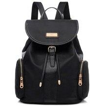 2016 Холст женская сумка повседневная портативный нейлон оксфорд водонепроницаемый рюкзаки школьный Колледж рюкзак 5018