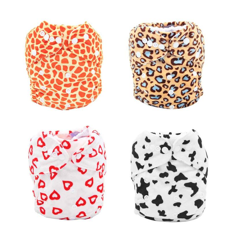 Baby Waterproof Adjustable One Size Washable Cloth Diaper Cover Breathable Soft Washable Baby Cloth Nappy Cover