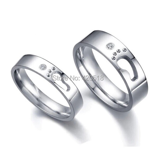 in men silver steel women love from item wedding alisouy rings on endless bands lover gift jewelry couple ring titanium promise accessories