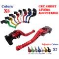 Ajustable CNC Cortos de Embrague Del Freno Las Palancas Para Suzuki SV650/S/N 1999-2010 DL650/V-Strom GSX600F/750F GSX-R750 RGV250 Gamma