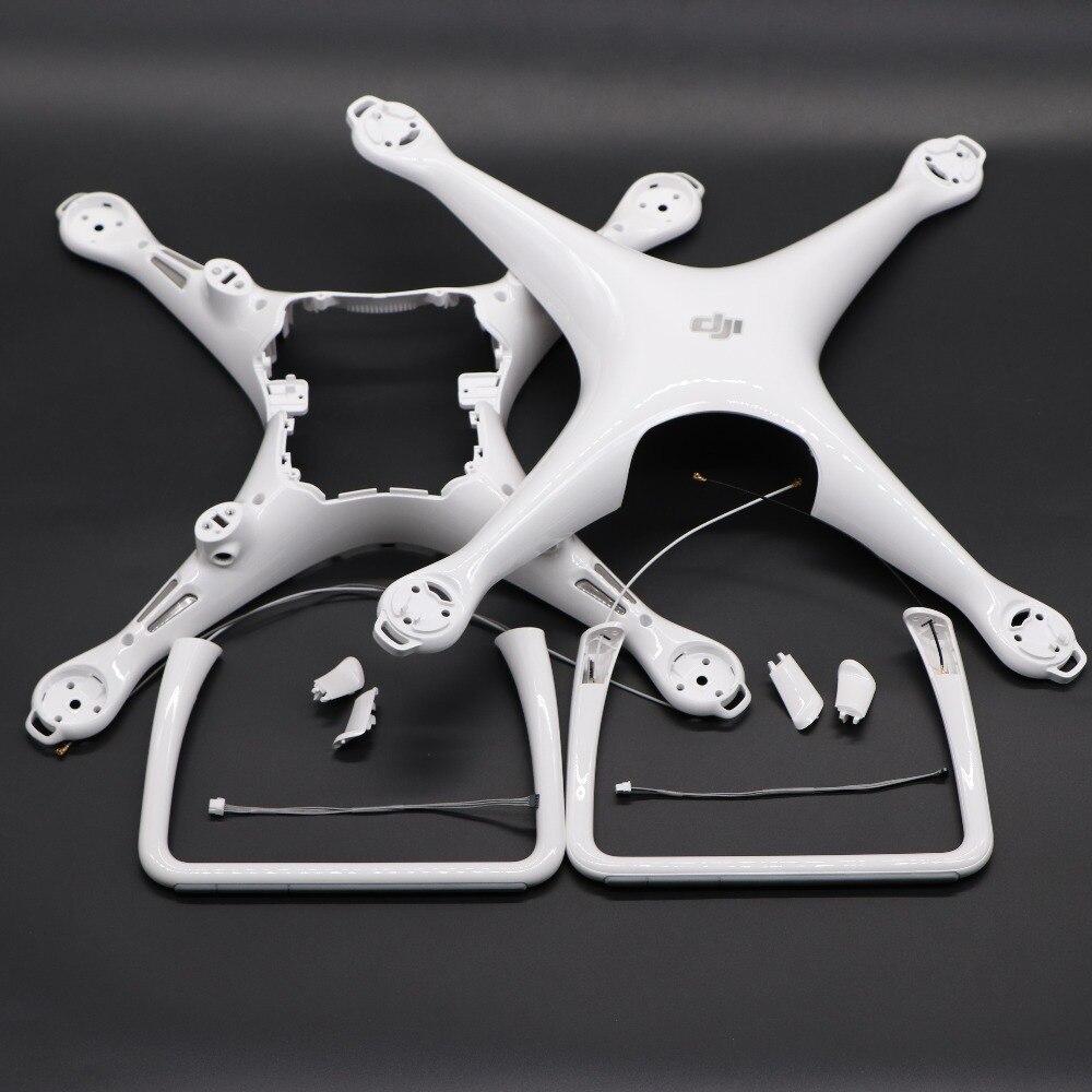 100% genuino aterrizaje piernas/Body Shell para Dji Phantom 4 cubierta accesorios de repuesto piezas de reparación