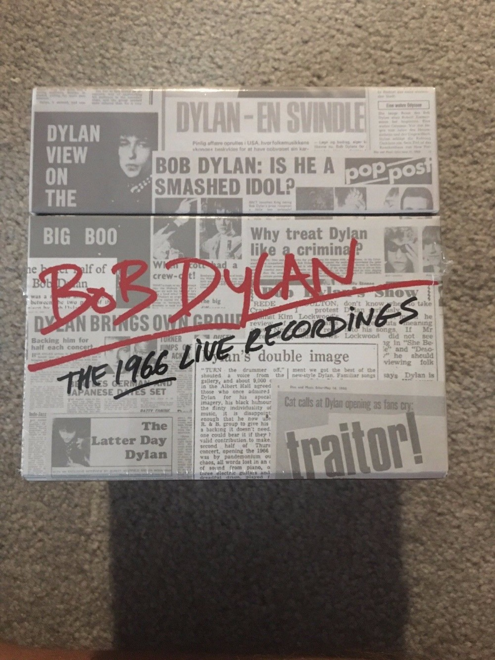 Bob Dylan The 1966 Live Recordings 36 CD BOX SET NEW SEALED cd bob dylan the bootleg series volumes 1 3 rare unreleased 1961 1991
