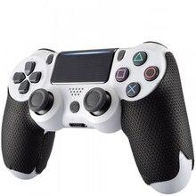 左と右ハンドル抗スリップソニーのプレイステーションデュアルショック4 PS4 DS4プロスリムコントローラグリップ