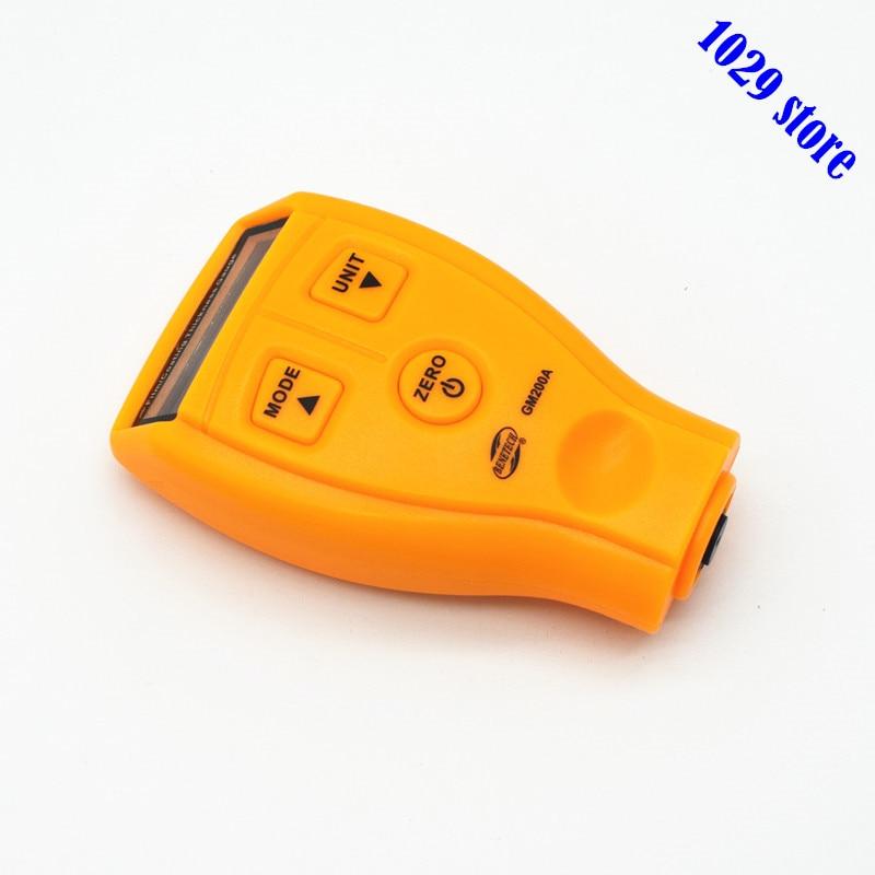Nuovo Originale GM200A Digital Rivestimento Calibro di Spessore del Rivestimento Auto Vernice Tester del tester Pittura Ad Ultrasuoni con il Sacchetto Del Regalo