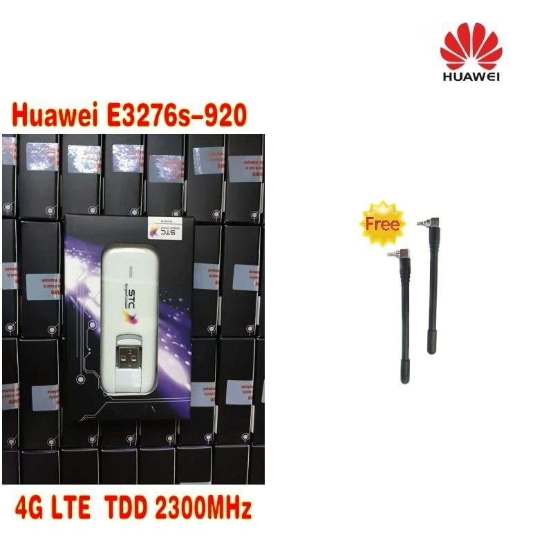 HUAWEI E3276s-920 4G LTE TDD2300MHZ 150M usb dongle 4G 150M unlocked MODEM Plus 2pcs antenna