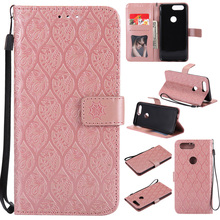 Luruxy 3D Rattan flower Leather Case For Oneplus 5 Mobile phone Flip Cover Wallet Pouch Capa Cases sFor 5T Coque