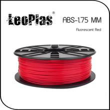 Worldwide Fast Delivery Direct Manufacturer 3D Printer Material 1 kg 2.2 lb 1.75mm Fluorescent Red ABS Filament