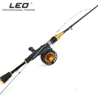 Fishing Rod 1m Raft Rod Titanium Alloy Black Bream Soft Tip Spinning Fishing Rod Guides Reel Seat 27970