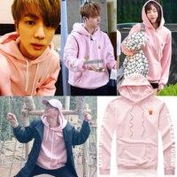Mainlead Kpop BTS JIN Cap Hoodie Bangtan Boys Pullover EXID HANI Sweatershirt Men Women Unisex ARMY