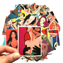 Pvc Stickers Strong Type Women 52pcs/lot