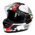 (1pc&6colors) DOT Approval Brand Shoei GT-Air Double Lens Motorcycle Helmet Racing Motor Full Face Helmets Capacete Casque Casco