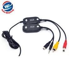 2.4G transmisor inalámbrico 2.4G receptor inalámbrico para Coche GPS portátil GPS de Mano GPS back up Opinión Posterior del Revés cámara WF