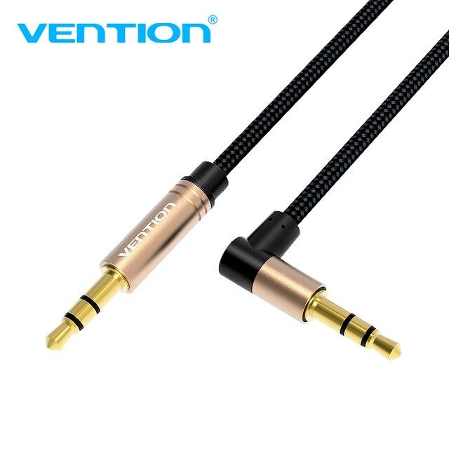 Vention Aux Cable 35mm Audio Cable Jack 35 Male Aux Cord For