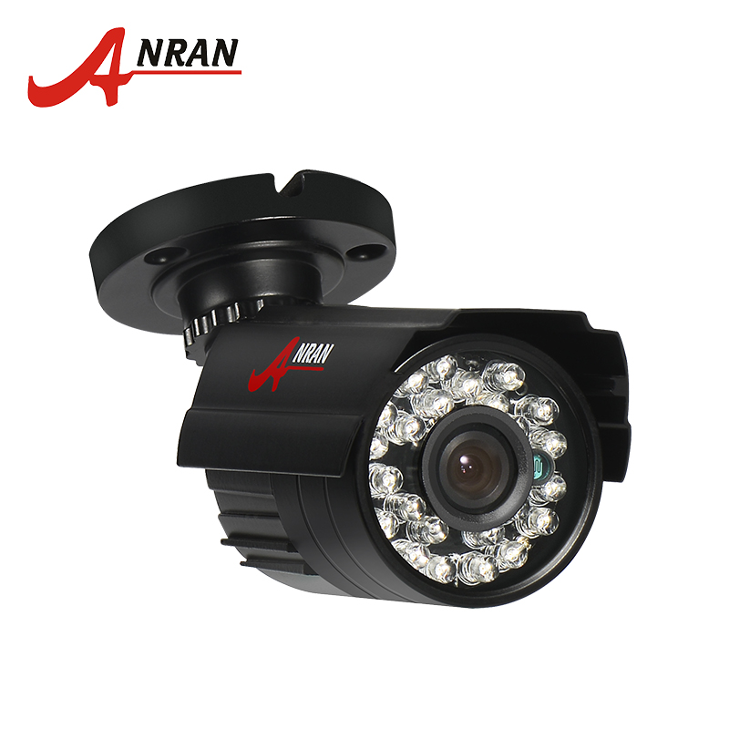 ANRAN 960H Analog CCTV Camera 1200TVL Infrared Outdoor Night Vision Waterproof Security Camera Black White For