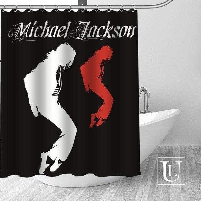 4 Shower Curtain Michael jackson shower curtain jackson galaxy 5c64f7a44ec73