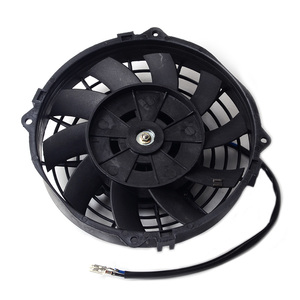 "Image 2 - SPEEDWOW אוניברסלי 7 ""מנוע מנוע רדיאטור קירור חשמלי למשוך לדחוף מאוורר רדיאטור מנוע קירור מאוורר 12V 80W"