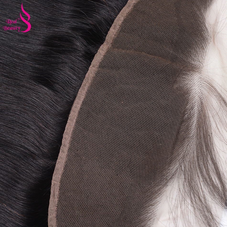 Real Beauty  Body Wave Lace Frontal  Natural Color 13X4 Ear To Ear Lace Closure  With Baby Hair 4