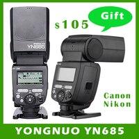 YONGNUO YN685 YN 685 (YN 568EX II обновленная версия) беспроводной HSS ttl вспышки Speedlite Поддержка YN560 TX RF605 RF603 II для Canon