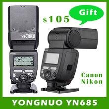 YONGNUO YN685 YN-685 (YN-568EX II Upgraded Version) Wireless HSS TTL Speedlite Flash Support YN560-TX RF605 RF603 II for Canon