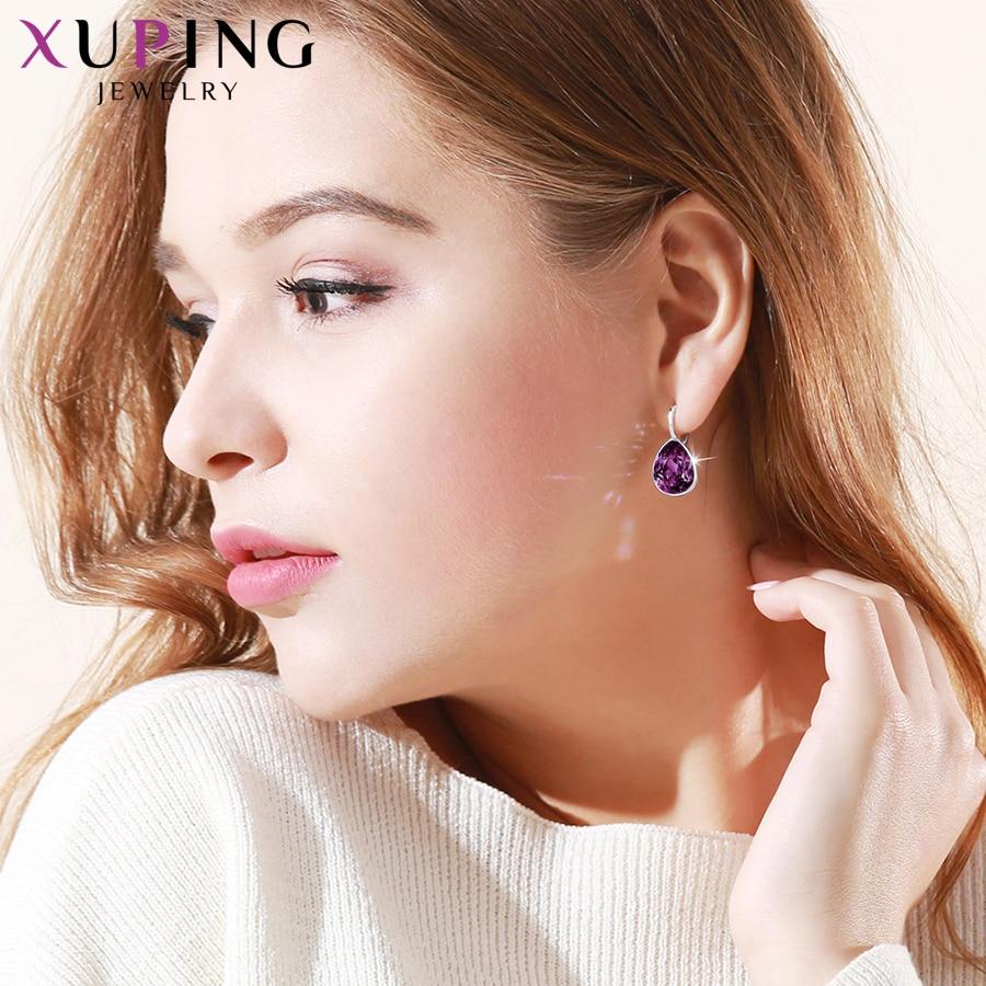 Xuping Charm Kleurrijke Oorbellen Valentijnsdag Valentijnsdag - Mode-sieraden - Foto 3
