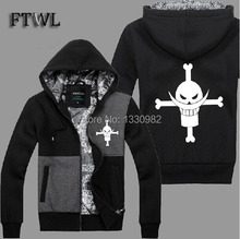 One Piece Hoodies Men Edward Newgate Cosplay Jacket Sweatshirt Anime Whitebeard Costume Clothes