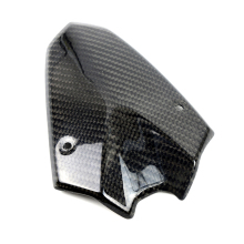 Motorcycle Carbon Fiber Headlight Fairing Instrument Windshield Windscreen Deflector Cover For Kawasaki Z1000 2014-2016