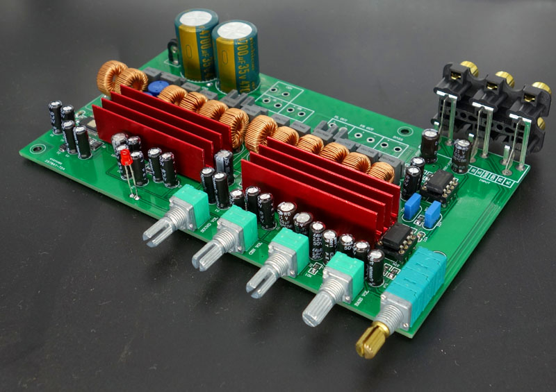 Assembled TPA3116 5 1 6-channel 100W+50W*5 Amplifier board +